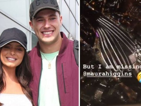 Love Island's Curtis Pritchard 'already missing' Maura Higgins as he finally reunites with brother AJ