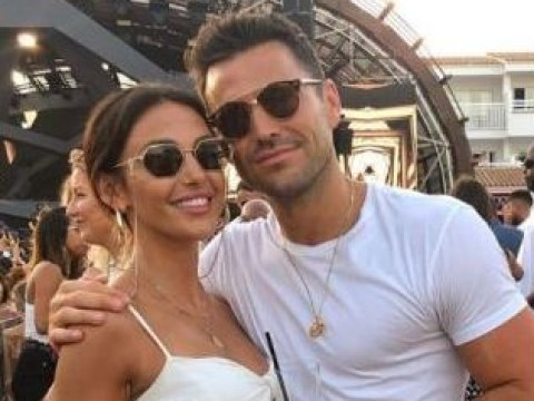 Mark Wright and Michelle Keegan party in Ibiza as they ignore Lauren Goodger's 'weird' comments