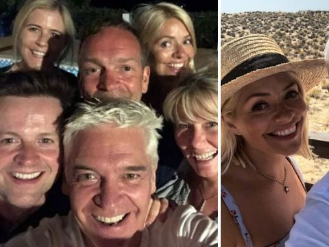 Ant McPartlin misses ITV reunion as Holly and Phil holiday with Declan Donnelly