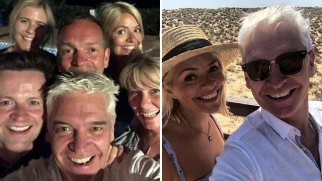 Phillip Schofield, Holly Willoughby, Declan Donnelly