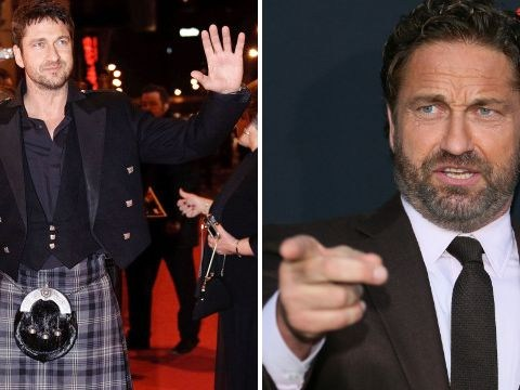 Gerard Butler upstaged sister at her own wedding after accidentally flashing guests