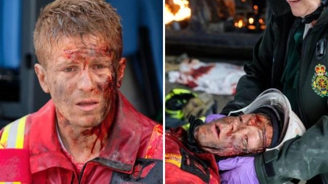 Casualty terror attack