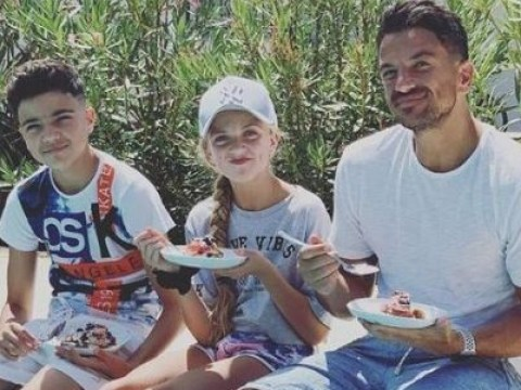 Peter Andre signs Junior and Princess up to cooking show – after banning ex Katie Price from featuring them on reality series