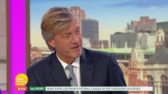 Richard Madeley criticised on GMB