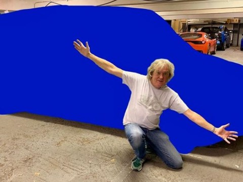The Grand Tour's James May roped into looking like a 't*t' as he shows off new wheels