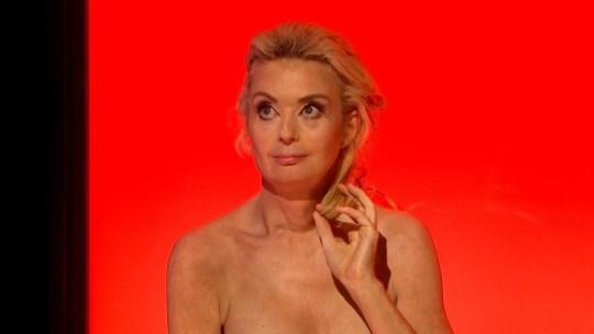 Lauren Harries on Naked Attraction