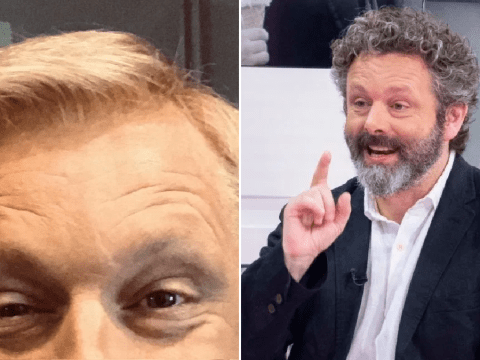 Michael Sheen shares first glimpse of impressive transformation into Chris Tarrant on Quiz
