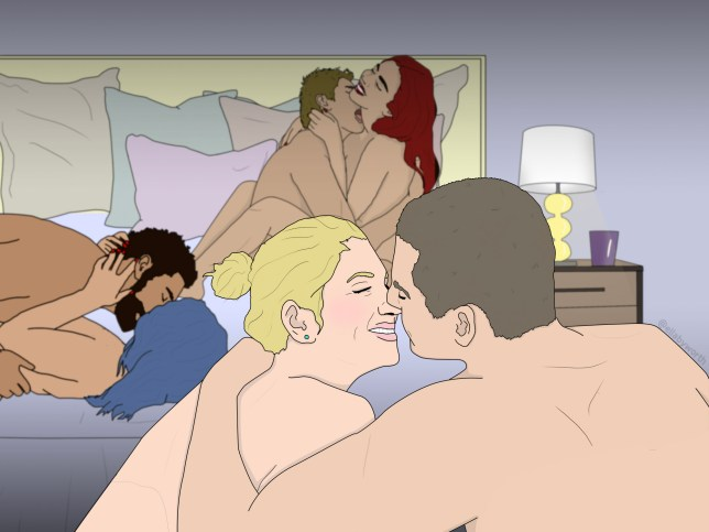 What it's like to have a midweek orgy