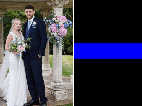 Police pay tribute to murdered PC Andrew Harper with blue line on Facebook profiles