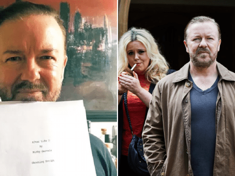 Ricky Gervais completes After Life 2 scripts as filming starts in just five weeks