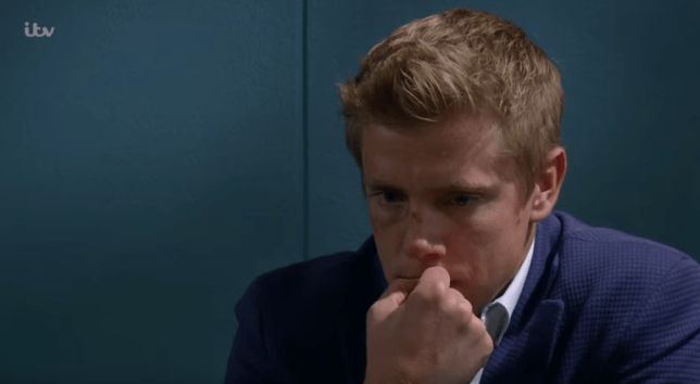 Robert sugden in Emmerdale
