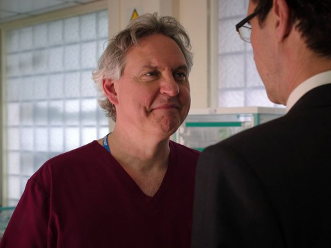 Holby City review with spoilers: Hanssen says goodbye, and Evan gets nastier