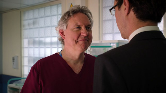 Hanssen leaves Holby