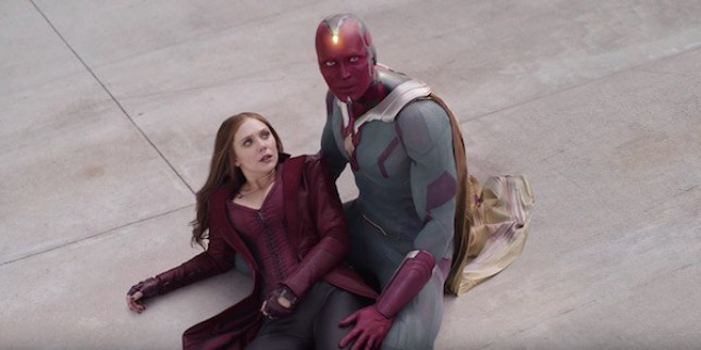 Scarlet Witch and The Vision