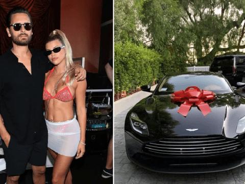 Sofia Richie surprised with an Aston Martin from boyfriend Scott Disick as 21st birthday celebrations get underway
