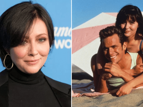 Shannen Doherty changed her mind about starring in Beverly Hills 90210 reboot because she wanted to 'honour' Luke Perry