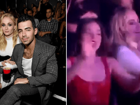 Sophie Turner ditching Joe Jonas to dance to Normani with girl pals at MTV VMAs is a whole mood
