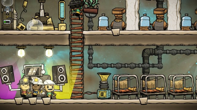 Oxygen Not Included review – deep space survival
