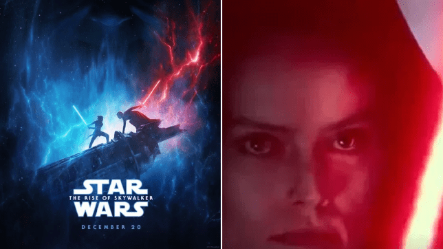 Star Wars The Rise Of Skywalker Trailer Teases Rey S Dark Turn Metro News