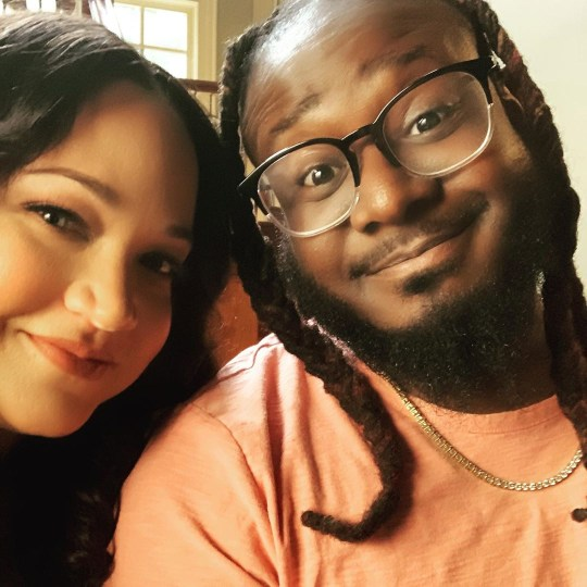 T-Pain and wife Amber (Picture: Instagram)