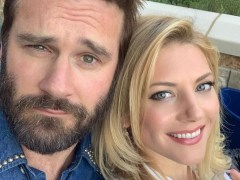 Vikings' Katheryn Winnick reunites with Clive Standen for wedding selfie