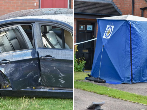 Man shot at and attacked with machete on second night of Birmingham violence