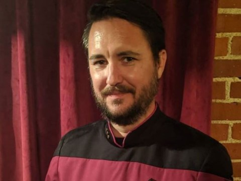 The Big Bang Theory's Wil Wheaton dug out a Star Trek Next Generation uniform and fans cannot deal