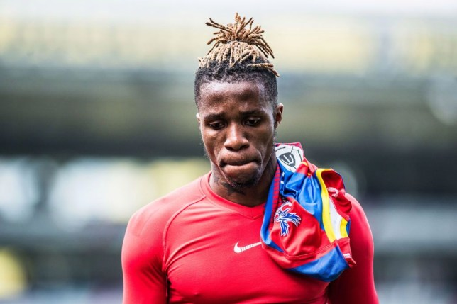 Wilfried Zaha plays with Arsenal new boy Nicolas Pepe for the Ivory Coast