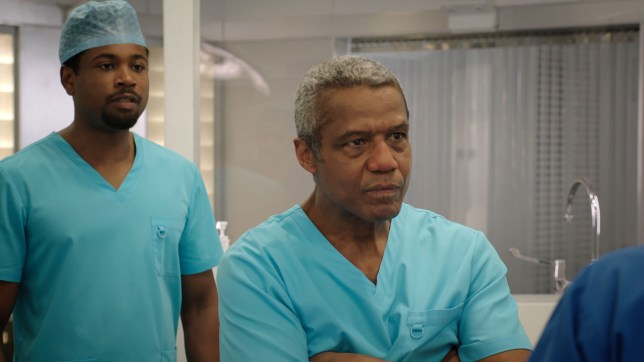 Ric in Holby City (Picture: BBC)