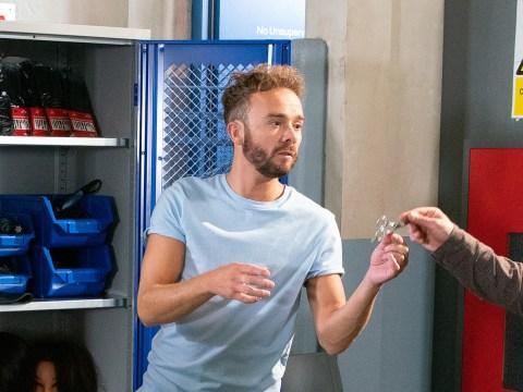 Coronation Street spoilers: David is caught up in huge prison drama