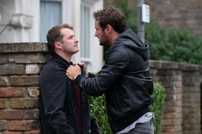 Ben and Martin fight in EastEnders