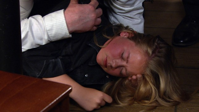 Liv collapses in Emmerdale