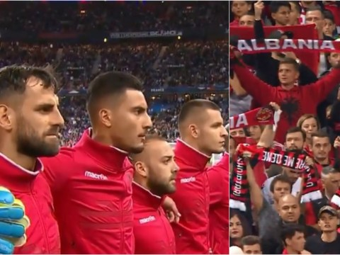 Albania players refuse to play France after WRONG national anthem is played before kick-off