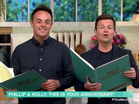 Ant and Dec gatecrash This Morning to replace Holly Willoughby and Phillip Schofield on their 10th anniversary