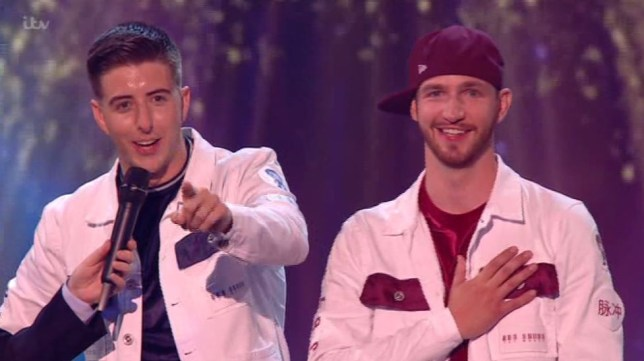 Twist and Pulse Britains Got Talent golden buzzer