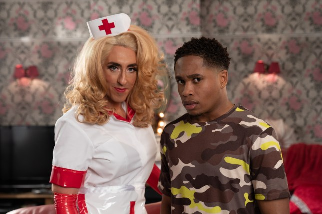 Mitchell and Scott in Hollyoaks