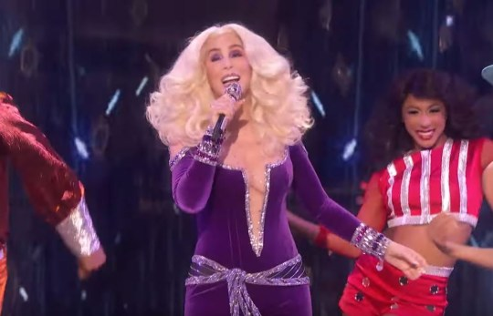 Cher on America's Got Talent