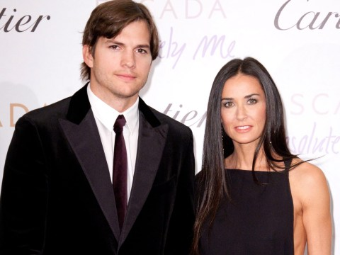 Ashton Kutcher insists there's no 'badness' between him and Demi Moore despite explosive memoir