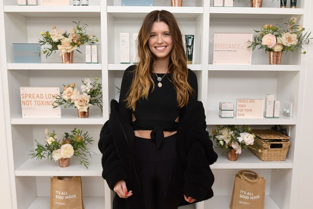 Katherine Schwarzenegger has not got time for trolls who say she's a try hard