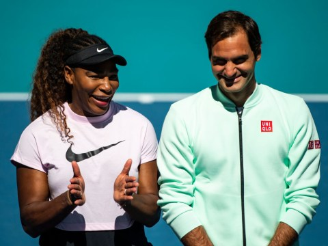 Roger Federer on how he and Serena Williams are still competing at the top