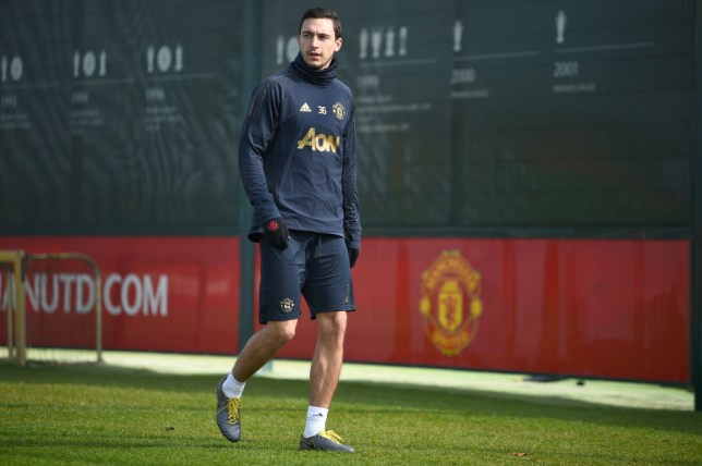 Matteo Darmian joined Parma on Monday