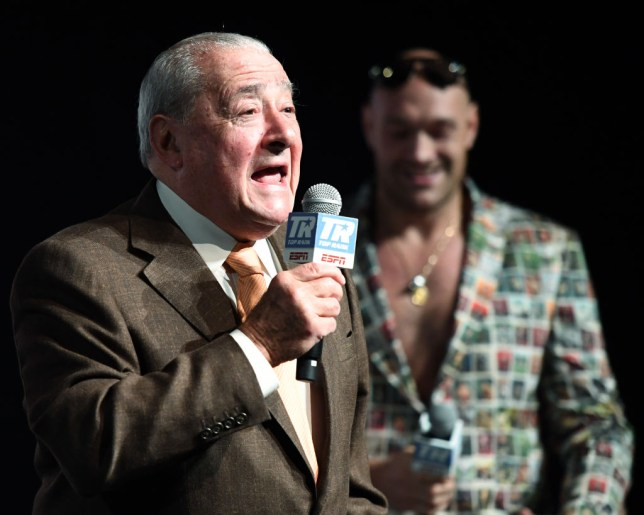 Bob Arum responds to Deontay Wilder wanting Tyson Fury to step aside