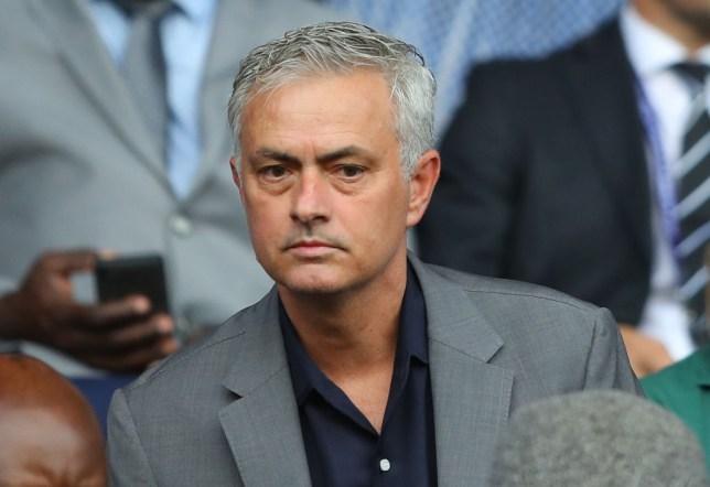 Jose Mourinho watches