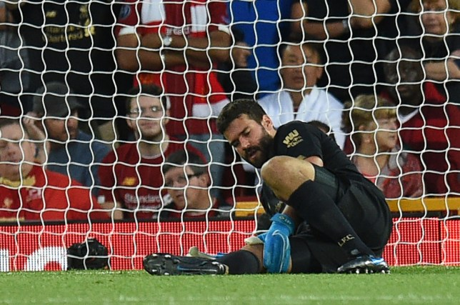 Image result for alisson becker injury