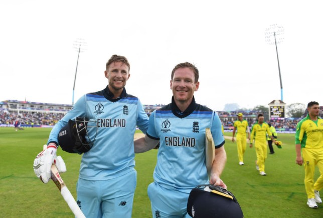 England thrashed Australia in the Cricket World Cup semi-final