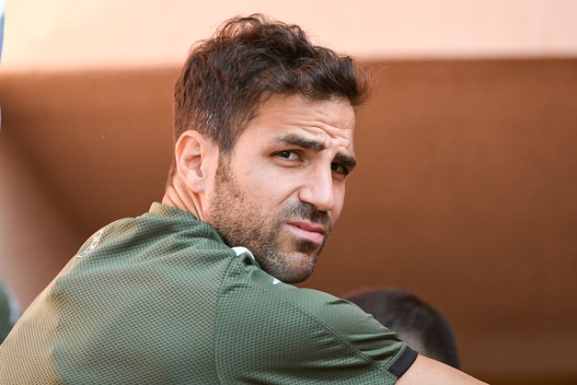 Cesc Fabregas rejected Real Madrid while he was at Arsenal