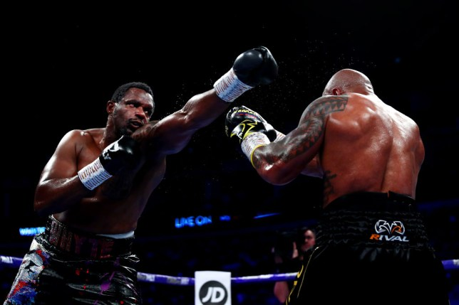 Dillian Whyte is not officially suspending from fighting