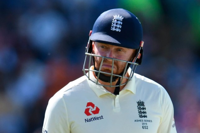 Jonny Bairstow was dropped from England's Test squad after the Ashes