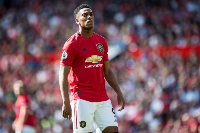 Anthony Martial is expected to be available for Manchester United's Premier League clash with Arsenal