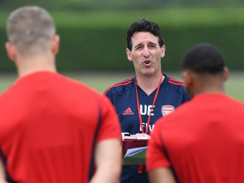 Unai Emery's repetitive training methods starting to frustrate Arsenal squad